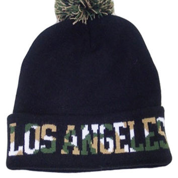 * Military  Knitted City Beanie