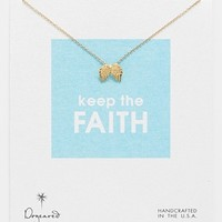 Dogeared 'Reminder - Keep the Faith' Boxed Pendant Necklace | Nordstrom