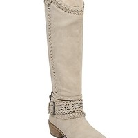 Not Rated Woven Whisper Riding Boot