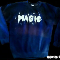 Custom Colors Magic Dipdye Sweatshirt by ShopHeroineCouture