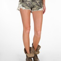 White Crow Camo Stretch Short