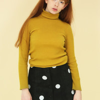 Limited Edition: Suede Polka Skirt