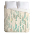 Loni Harris Wild West Feathers Duvet Cover