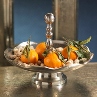 Kasbah Round Scalloped Serving Tray