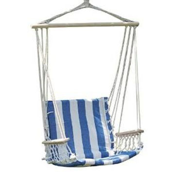 Naval-Style Cotton Fabric Canvas Hammock 17 inches Wide Seat