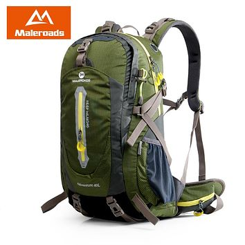 Maleroads 40-50L Backpack | Camping, Hiking, Climbing,
