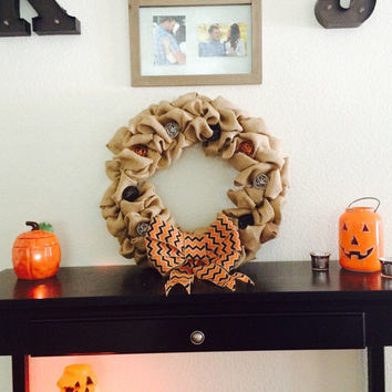 Halloween Light Up Wreath