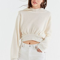Project Social T Moon Cropped Hoodie Sweatshirt | Urban Outfitters
