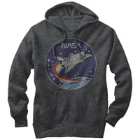 Nasa Men's - Space Rocket Lightweight Hoodie