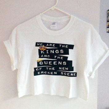 She's Kinda Hot Cropped Tee