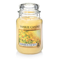 Flowers in the Sun : Large Jar Candles : Yankee Candle