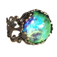 Vintage Morocco Gemstone Ring