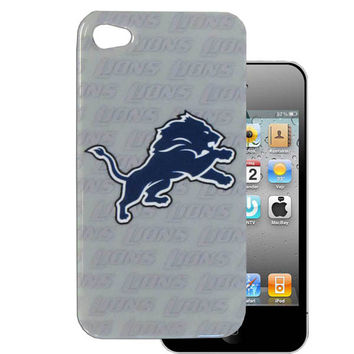 Detroit Lions Graphics Snap on Case fits iPhone 4/4S