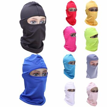 Outdoor Bike Bicycle Balaclava Sport Mask Cycling Riding Face Mask Scarf Headband Protection Cycling Full Face Mask