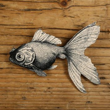 Goldfish Brooch by mamaslittlebabies on Etsy