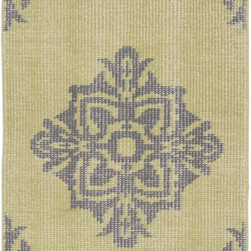 Surya Zahra ZHA4024 Green/Black Medallion and Damask Area Rug