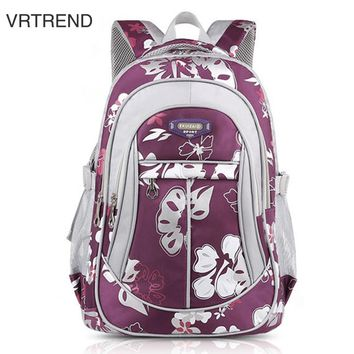 VRTREND Junior High School Backpacks For Girls Primary Kids Bags High Quality Large Size Capacity School Bags For Children Girls