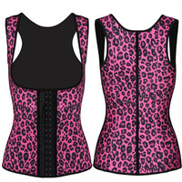 Leopard Rubber Corset Palace Latex Strap [4965268804]