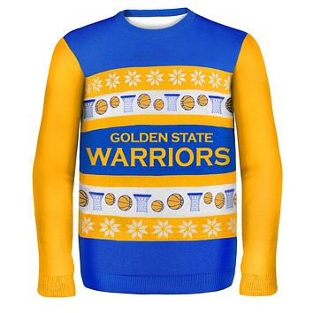 Golden State Warriors - One Too Many Ugly Christmas Sweater