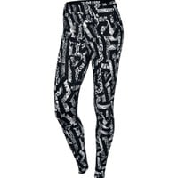 Nike Women's Leg-A-See Allover Printed Tights