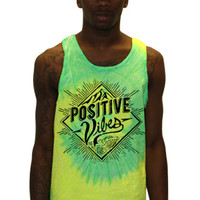 Positive Vibes_Lime_Tank