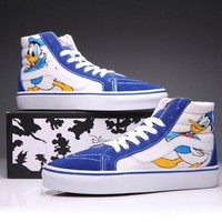 VANS X Disney SK-Hi Canvas Ankle Boots Flats Sneakers Sport Shoes