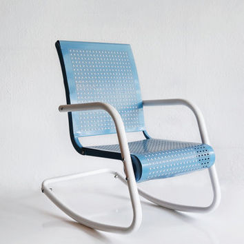 Mid-Century Modern Child's Rocking Chair