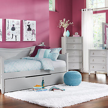 Jaclyn Place Gray 3 Pc Daybed Bedroom From Rooms To Go
