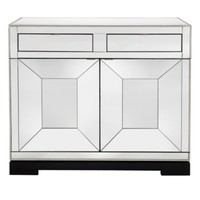 Tangent Mirrored Bar Cabinet   Bar Carts   Dining Room Furniture   Furniture   Z Gallerie