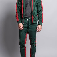 Men's Side Striped Track Suit 18121-1211
