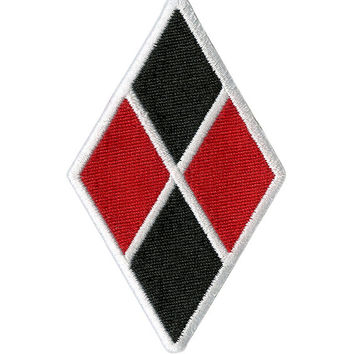 DC Comics Suicide Squad Harley Quinn Diamond Patch