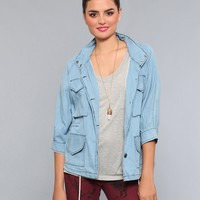 Breezy Day Chambray Jacket - What's New | GYPSY WARRIOR