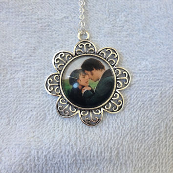 Pride and Prejudice Inspired Elizabeth and Darcy Necklace!
