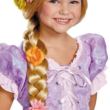 costume accessory: rapunzel prestige wig child