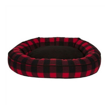 Cabin Blanket Comfy Cup Dog Bed