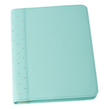LEATHER A5 COMPENDIUM: MINT - Leather Books - Notebooks - Notebooks & Journals