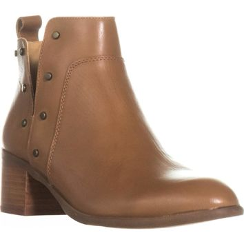 Franco Sarto Richland Studded Ankle Boots, Whiskey, 7.5 US / 37.5 EU