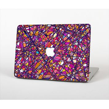 The Shards of Neon Color Skin Set for the Apple MacBook Air 11""
