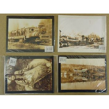 The Old Photo Chest of America 10x7 in Prints Qty 4