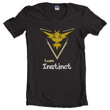Team instinct Women Tshirt tee