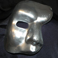 Silver Phantom of the Opera Mask
