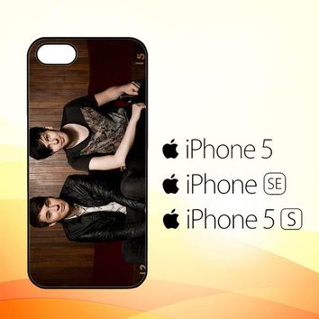 Dan and Phil Z1036  iPhone 5|5S|SE Case