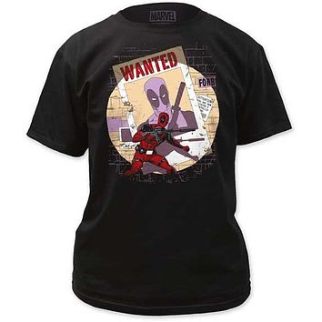 WANTED MENS TEE