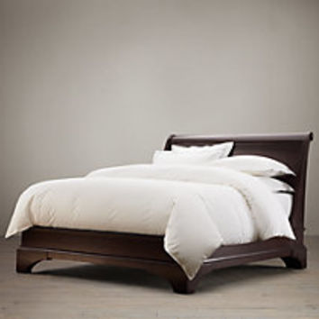 Portman Sleigh Bed Without Footboard