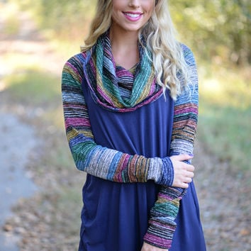 Arm Candy Cowl Neck Top