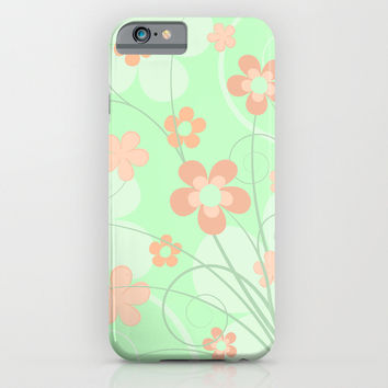 Spring floral iPhone & iPod Case by EDrawings38