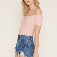 Off-the-Shoulder Bodysuit | Forever 21 - 2000205062