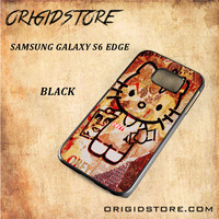 Obey Hello Kitty For Samsung Galay S6 Edge Snap On and 3D Case