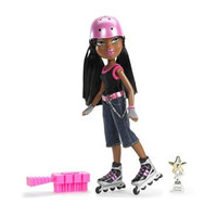 Bratz Play Sportz Doll Inline Skating - Sasha