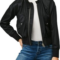 Free People Midnight Bomber Jacket | Nordstrom